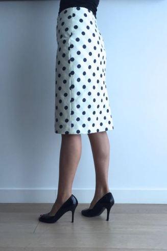 skirt-polkadot
